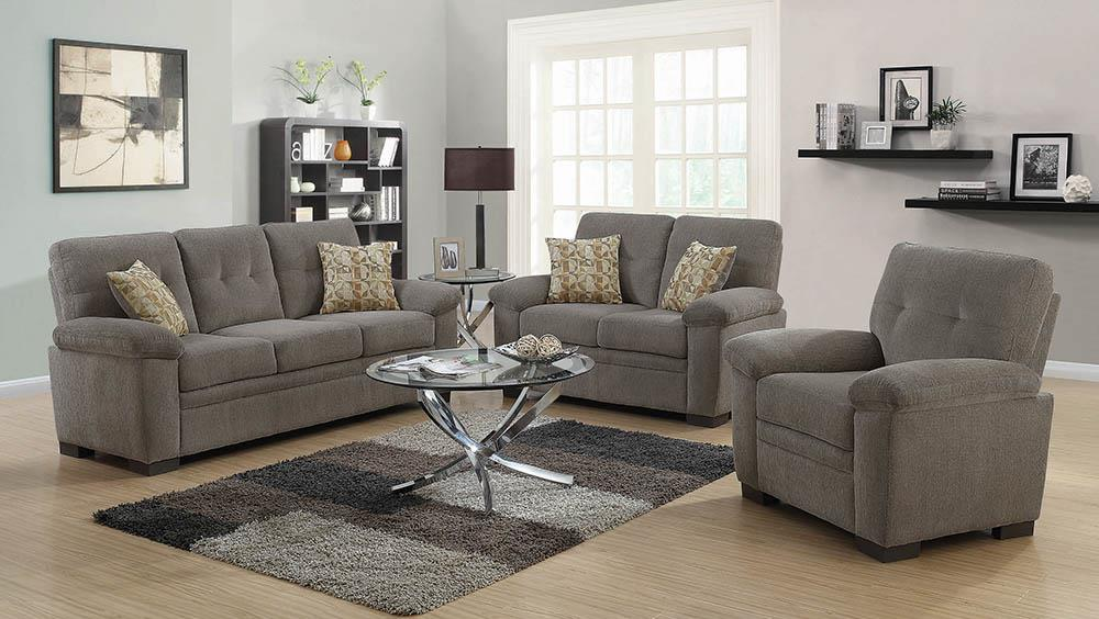 Fairbairn Casual Brown Two-Piece Living Room Set image