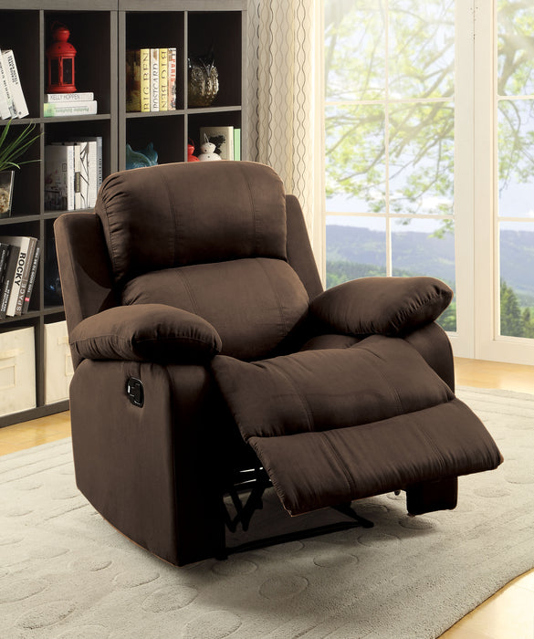 Parklon Chocolate Microfiber Recliner (Motion)