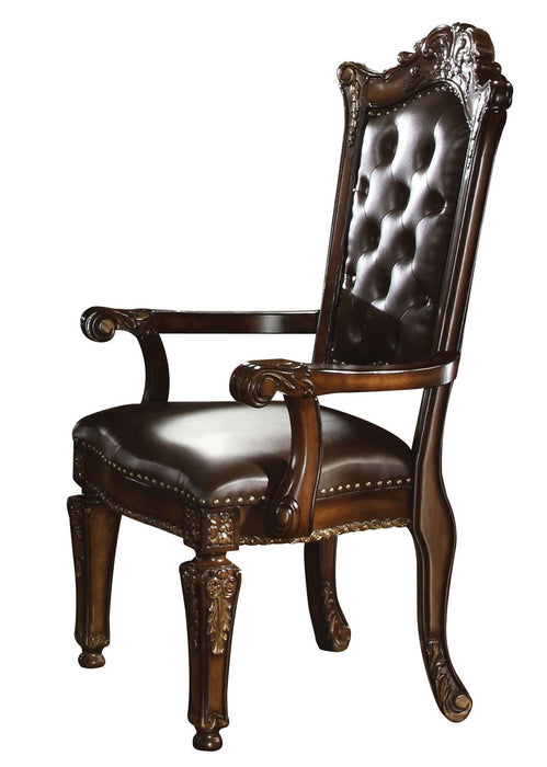 Vendome PU & Cherry Arm Chair