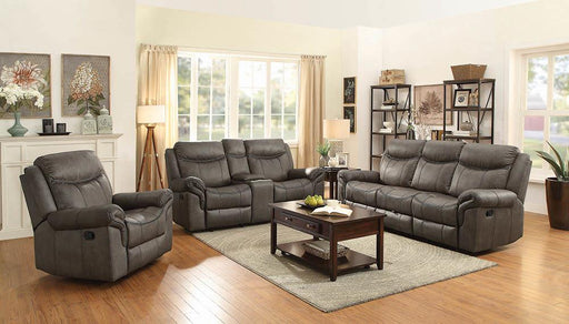 Sawyer Transitional Taupe Motion Loveseat image