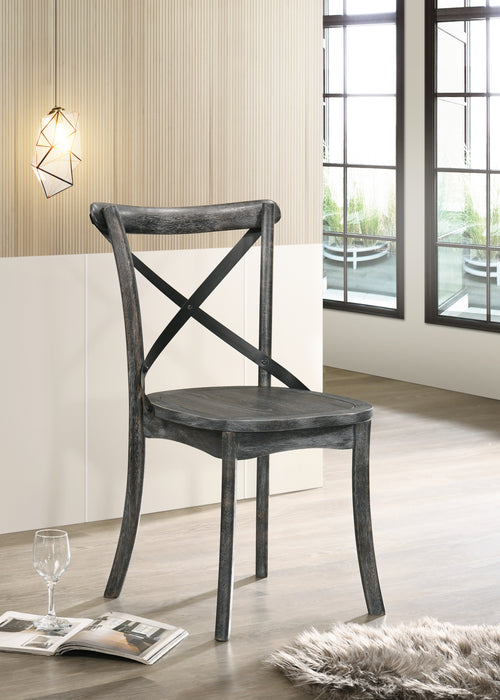 Kendric Rustic Gray Side Chair