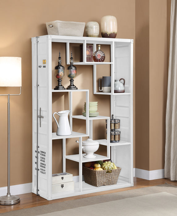 Cargo White Shelf Rack / Book Shelf