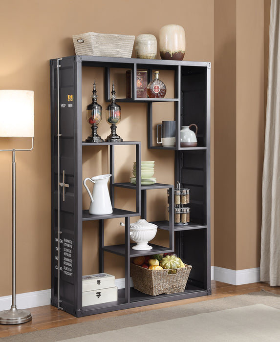 Cargo Gunmetal Shelf Rack / Book Shelf