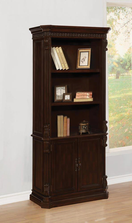 Tucker Rich Brown Bookcase image