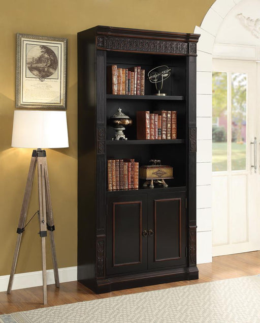 Nicolas Traditional Espresso Bookcase image