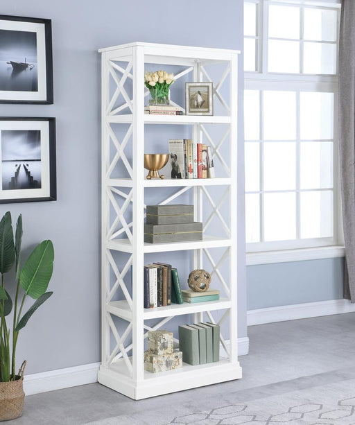 Johansson Antique White Bookcase image