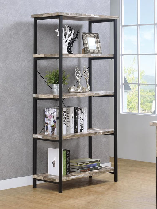 Skelton Industrial Salvaged Cabin Bookcase image