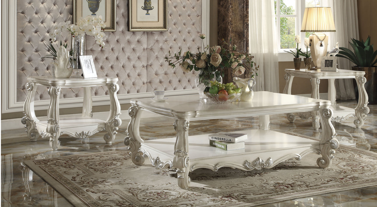 Versailles Bone White Coffee Table