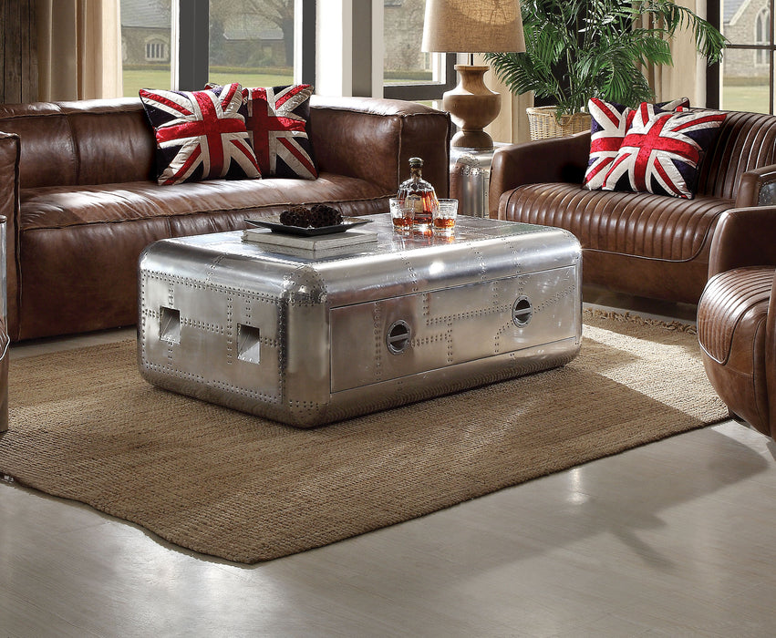 Brancaster Aluminum Coffee Table
