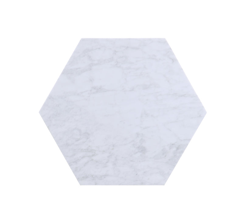 Reon Marble & Gray End Table (2Pc Pk)