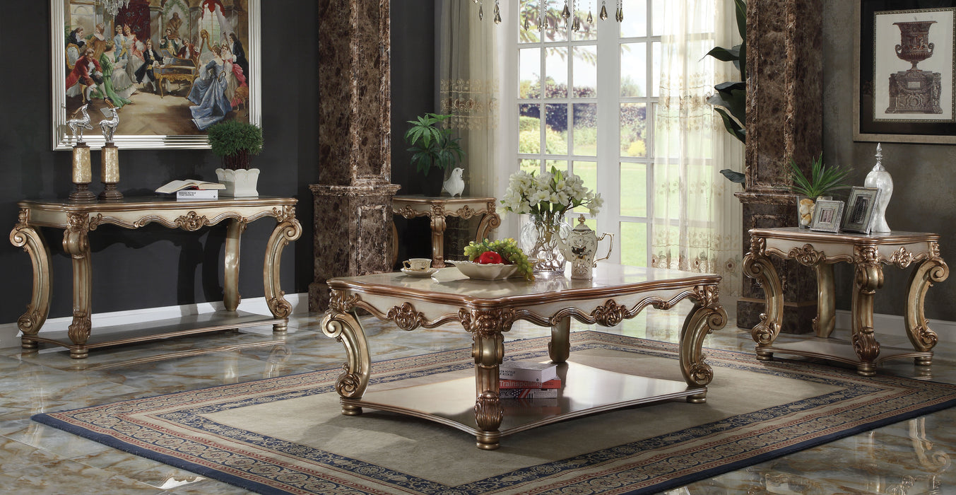 Vendome Gold Patina Coffee Table
