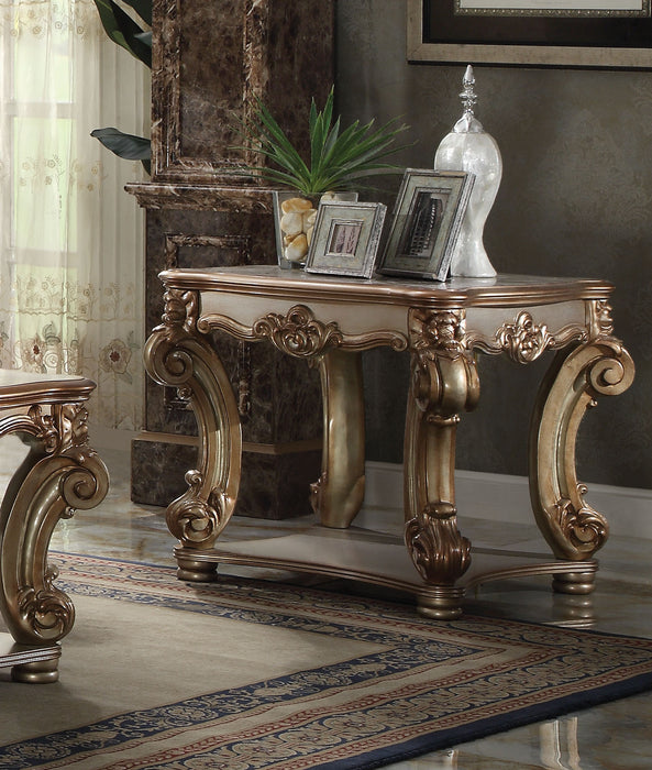 Vendome Gold Patina End Table