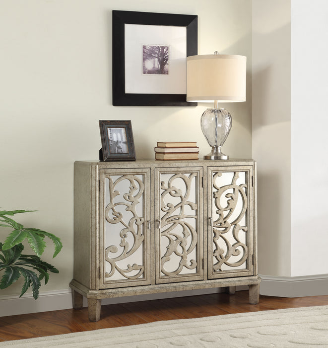 Bailea Silver Gray Console Table