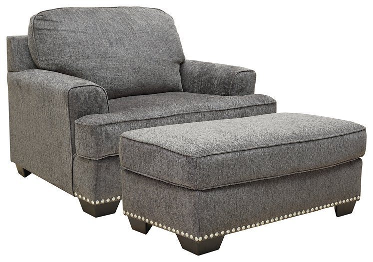 Locklin Benchcraft 2-Piece Chair & Ottoman Set image