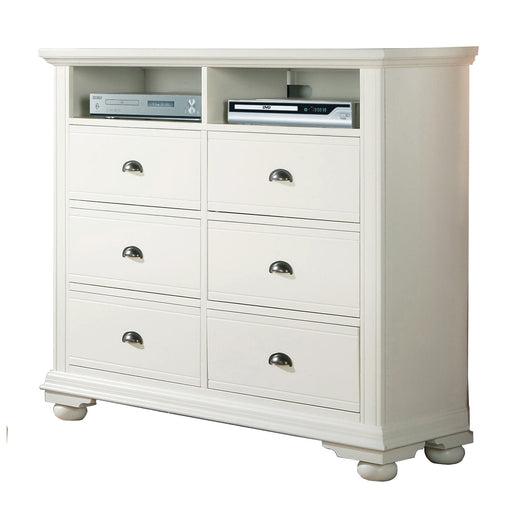 Brookpine White TV Stand image