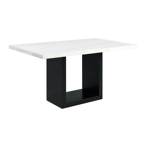 Valentino White Marble Counter Height Dining Table image