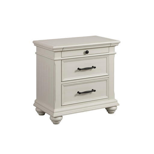 Slater 3-Drawer Nightstand with USB Ports image