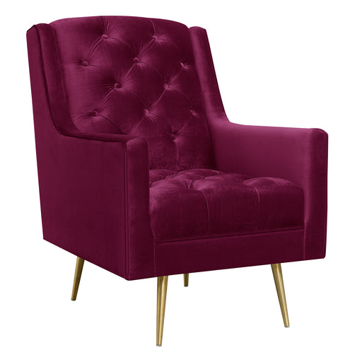 Bryan Accent Chair w/ Gold Legs image