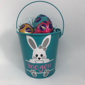 Easter Personalised Hunting Bucket Printing Innovations