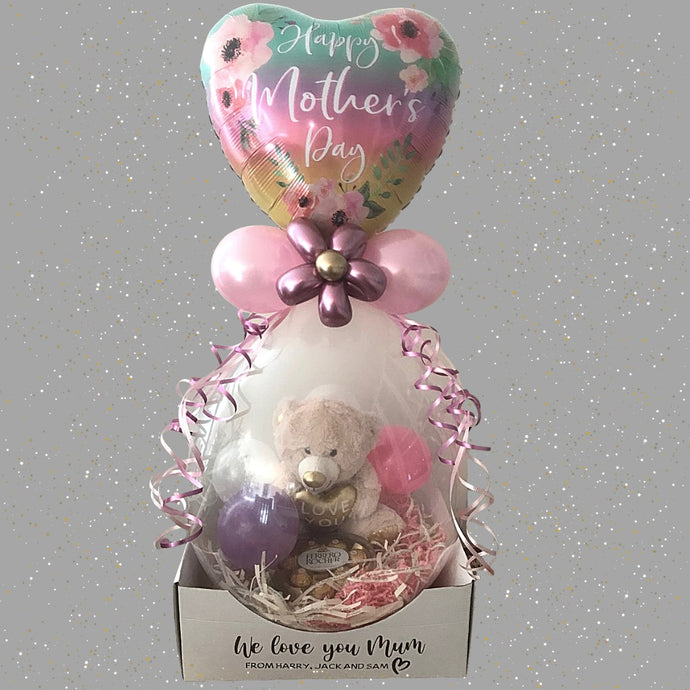 Mothers Day Stuffed Balloon - Chocolate Love Printing Innovations