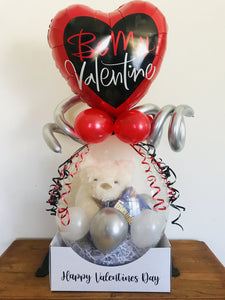 Personalised Valentines Day Stuffed Balloon - Be Mine Printing Innovations