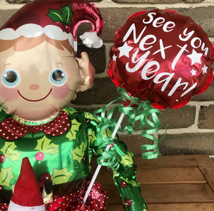 The Elf on a Shelf DIY Departure Balloon Kit Printing Innovations