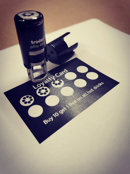Custom Loyalty card stamp