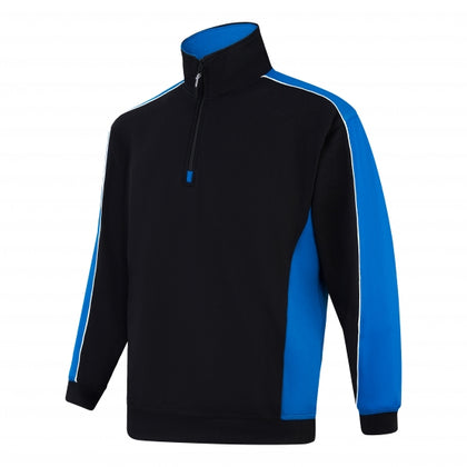 ORN AVOCET TWO TONE 1/4 ZIP SWEATSHIRT (1288)