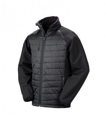 Result Black Compass Padded Jacket RS237