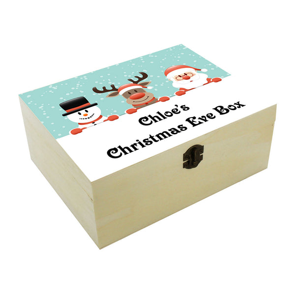 Personalised Christmas eve box. Christmas tradition. Boy or Girl Ceb01