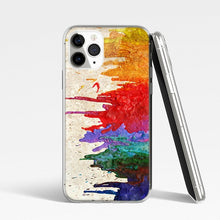 Load image into Gallery viewer, Art Color Painting Silicone Phone Case