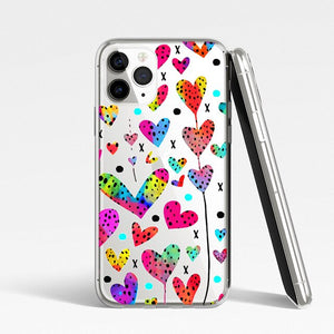 Art Color Painting Silicone Phone Case