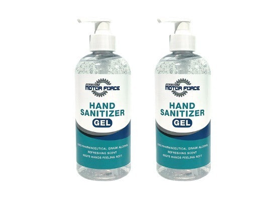 15 oz Fragrance Free Motor Force™ Hand Sanitizer Gel (2 Bottles)