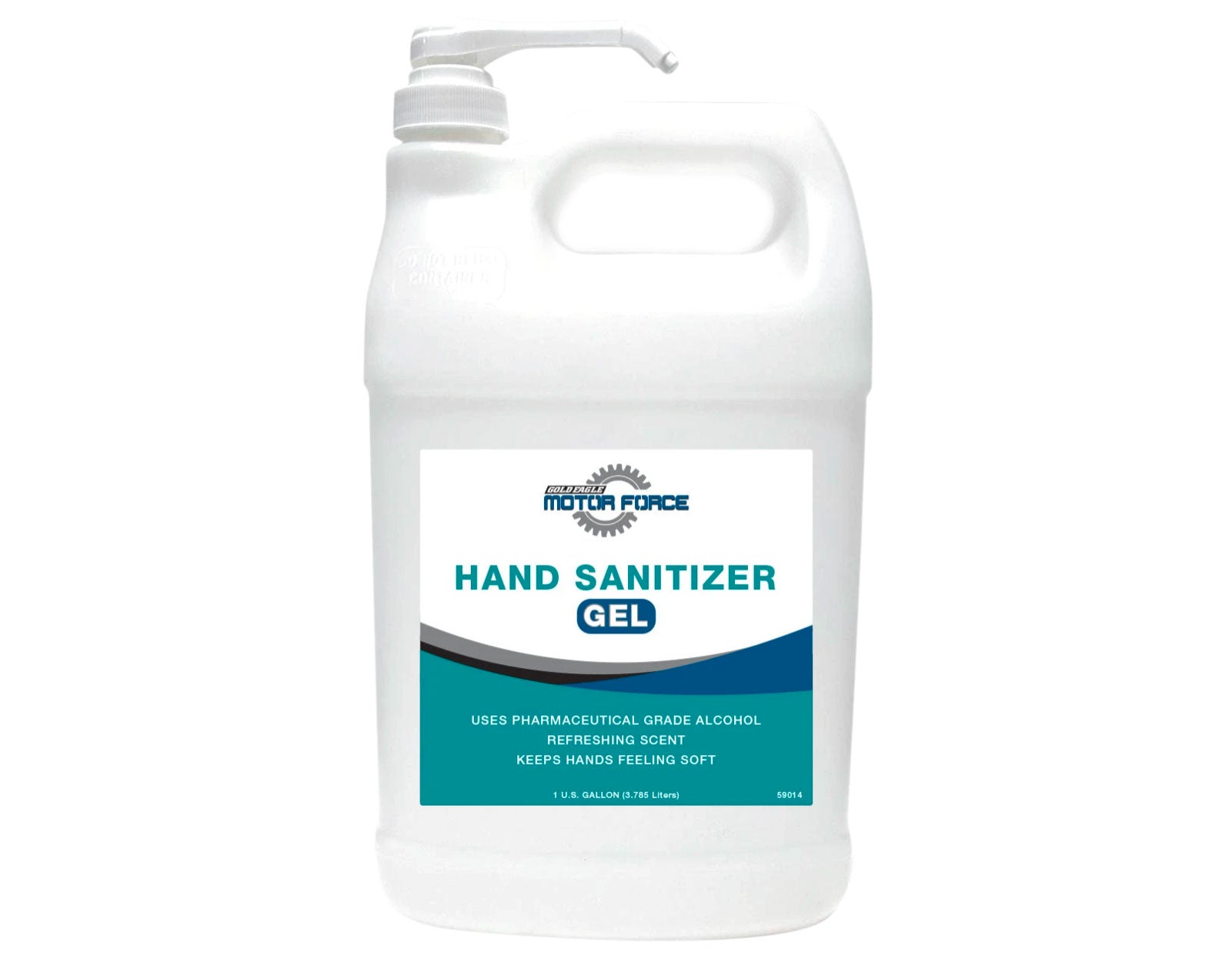 One case of 4 -1 Gallon containers Fresh Scent Hand Sanitizer