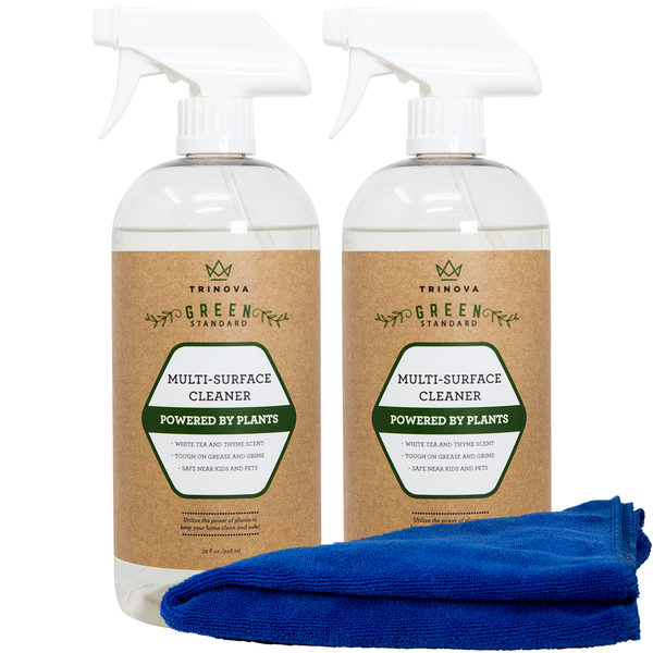 32 oz Trinova® Plant-Based Natural Multi-Surface Cleaner (2 Bottles)