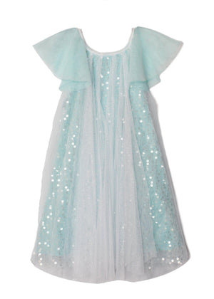 Blue Sparkling Magic Tiffany Dress