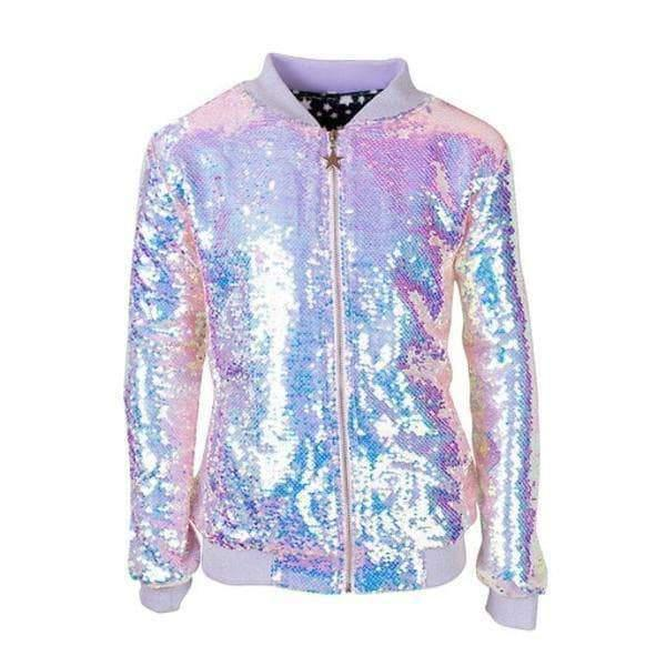 Cotton Candy Bomber Jacket