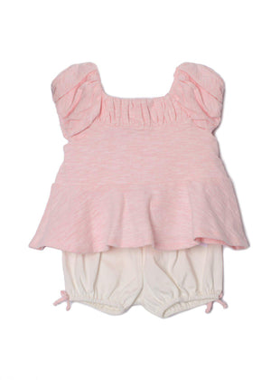 Jolie Bloomer Set In Pink - 3136LP