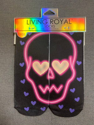 Living Royal Glow In The Dark Ankle Socks