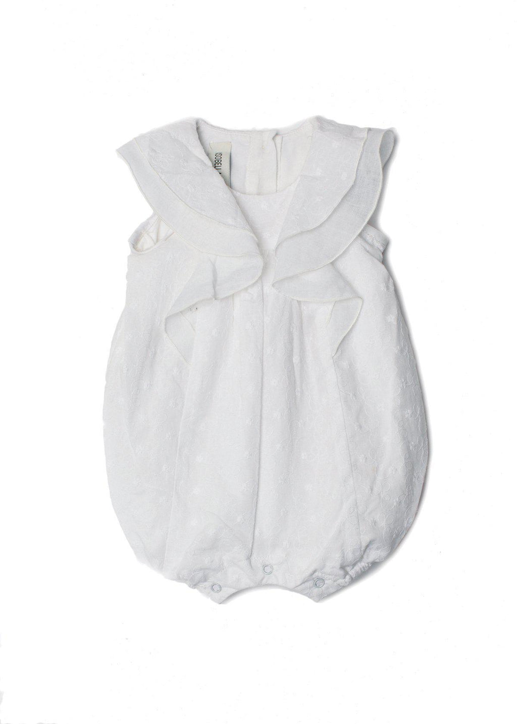 Ava May Romper White