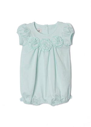 Flora Dance Light Blue Romper 3214