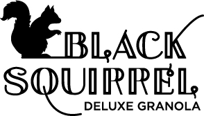 Black Squirrel Deluxe Granola logo