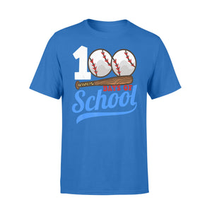 100 Days Of School Baseball 100th Day T-Shirt - Standard T-shirt