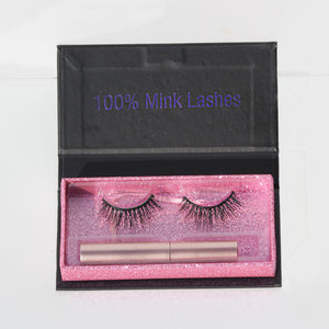 100% Mink Lashes - Sweetheart