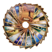Load image into Gallery viewer, The Holy Door The Enchanted Map Oracle Cards