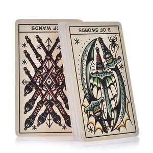 Tattoo Tarot Cards Set