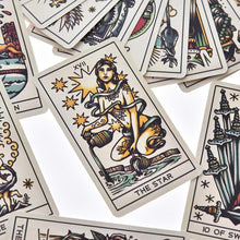 Load image into Gallery viewer, Tattoo Tarot Cards Set