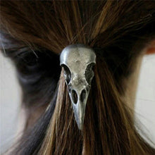 Load image into Gallery viewer, Raven Skull Elastic Hair Band