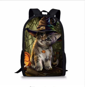 Gothic Witchy Cat Backpack