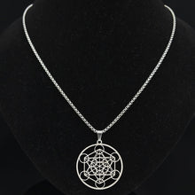 Load image into Gallery viewer, Tree of Flower Pendant Necklace